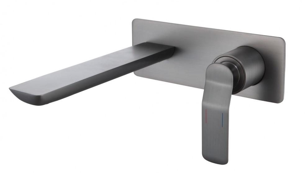 Arcisan Synergii Wall Mounted Basin Mixer - Brushed Gun Metal