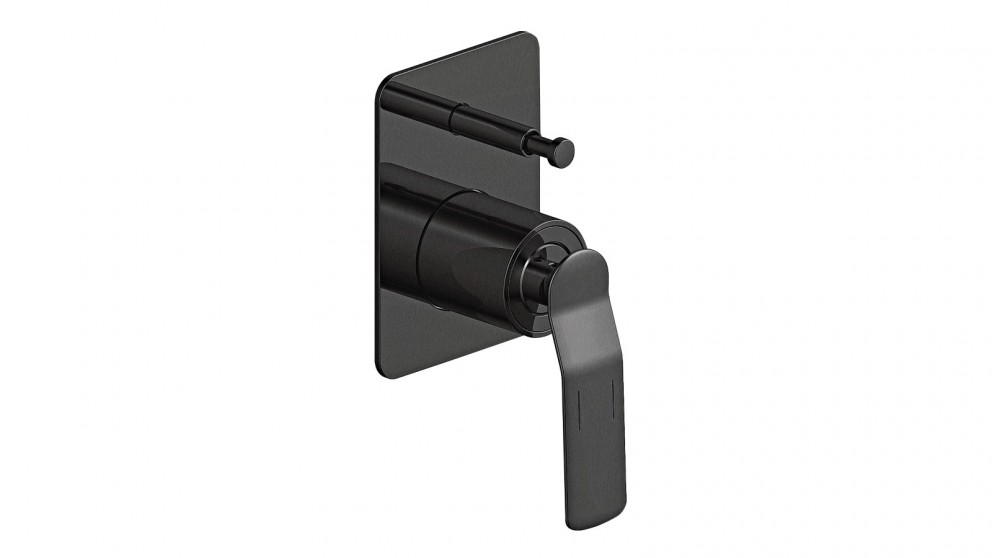 Arcisan Synergii Bath/Shower Mixer with Diverter - Gun Metal