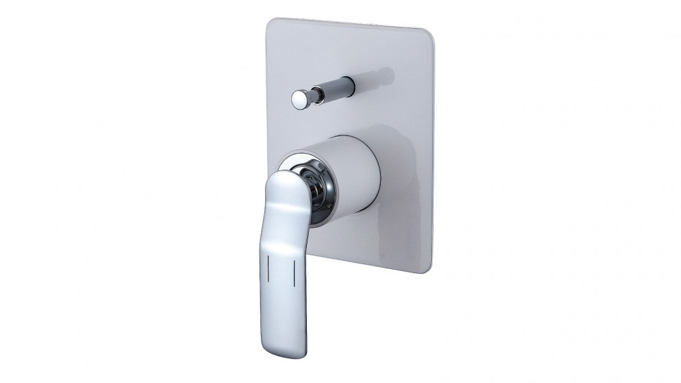 Arcisan Synergii Bath/Shower Mixer with Diverter - White