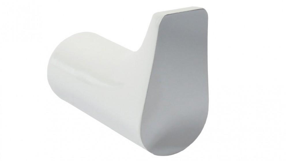 Arcisan Synergii Robe Hook - White/Chrome