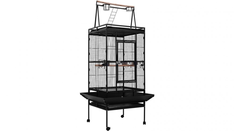 i.Pet 173cm Bird Cage with Aviary Stand