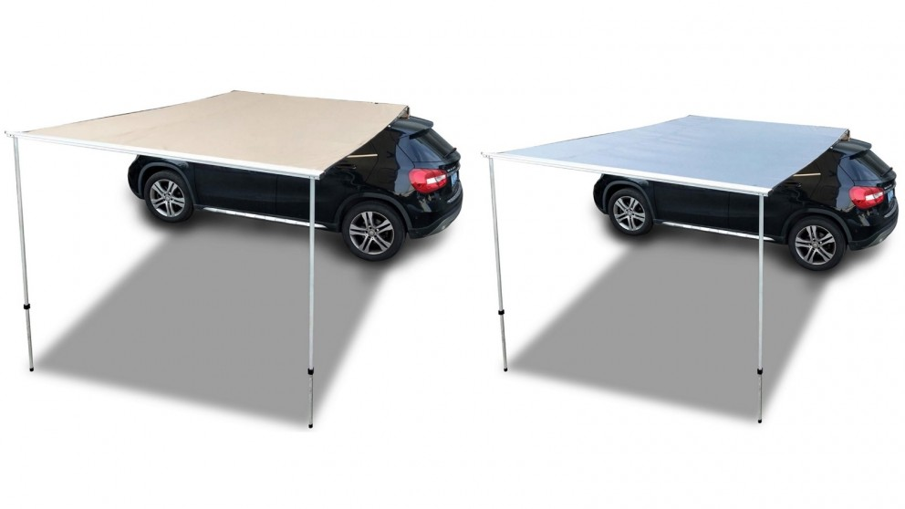 T&R Sports 2x2m Car SUV Side Awning General Use Camping Tents Roof Top Outdoor Tent