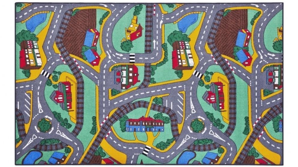 Plum Play 200cm x 95cm Street Carpet Play Mat