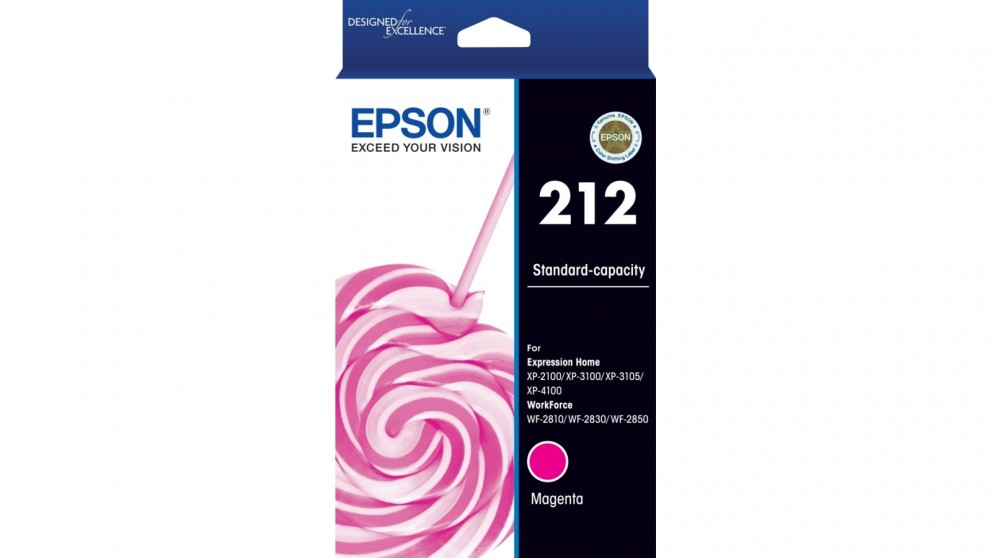 Epson 212 Standard Capacity Magenta Ink Cartridge