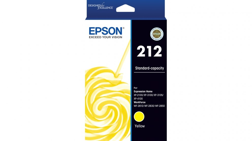 Epson 212 Standard Capacity Yellow Ink Cartridge