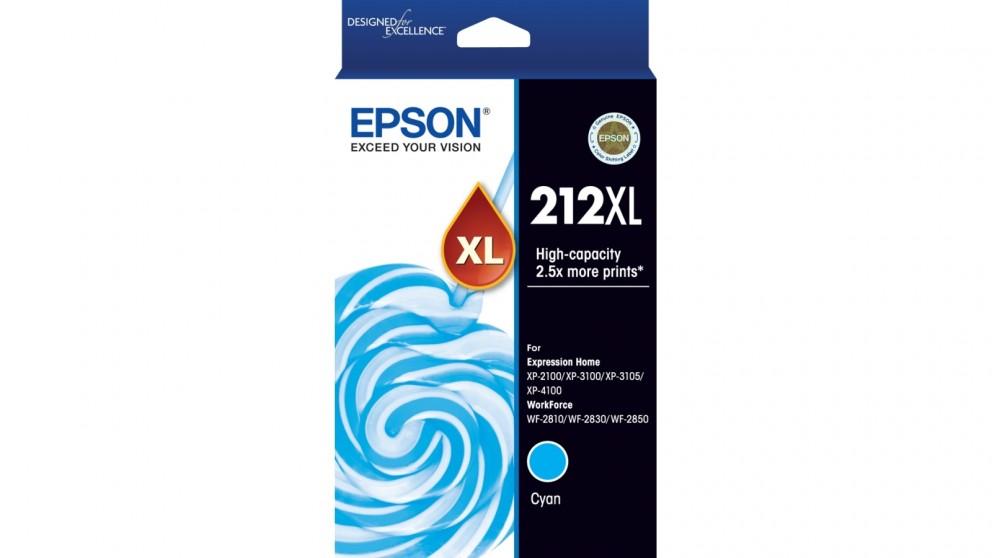Epson 212XL High Capacity Cyan Ink Cartridge
