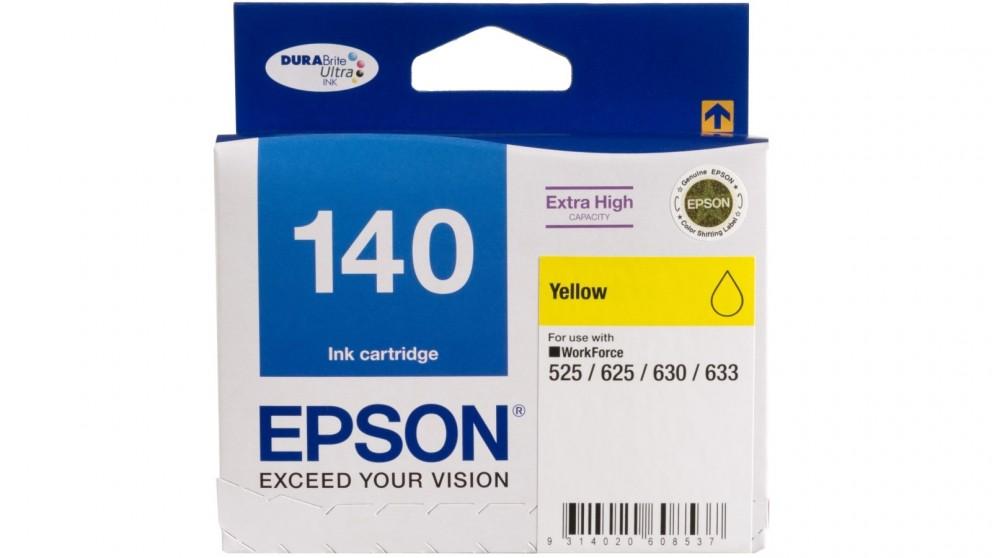 Epson 140 Extra High Capacity Yellow Ink Cartridge