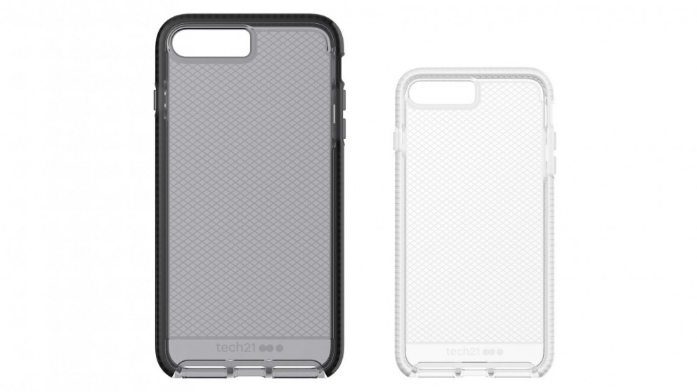cheaper 38f69 489bd Tech21 Evo Check Case for iPhone 8 Plus