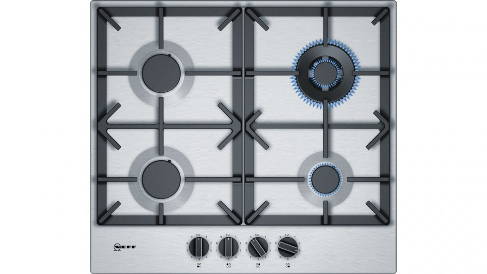 NEFF 60cm Integrated Gas Cooktop - Stainless Steel