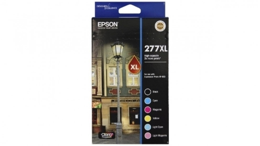Epson 277XL 6 Colour Ink Pack