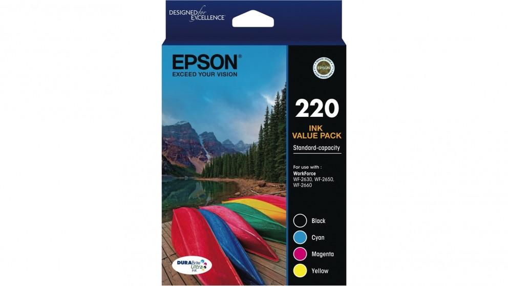 Epson 220 4-Pack Ink Cartridge
