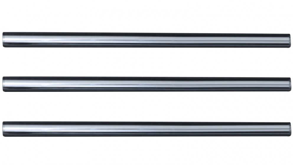 Hydrotherm Tube 1000mm Triple Heated Towel Rail - Chrome