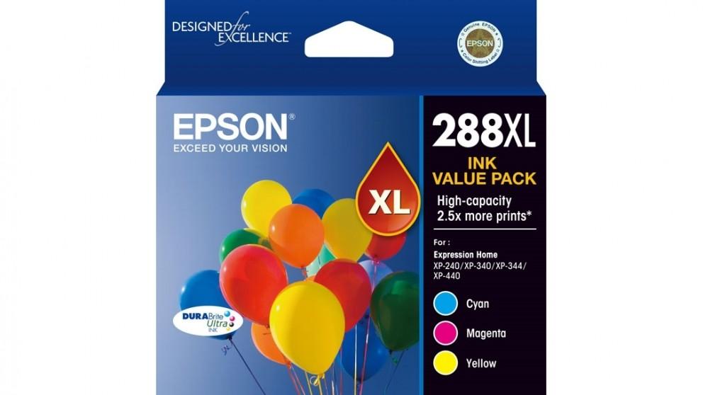 Epson 288XL DURABrite Ultra 3 Colour Ink Cartridge Pack