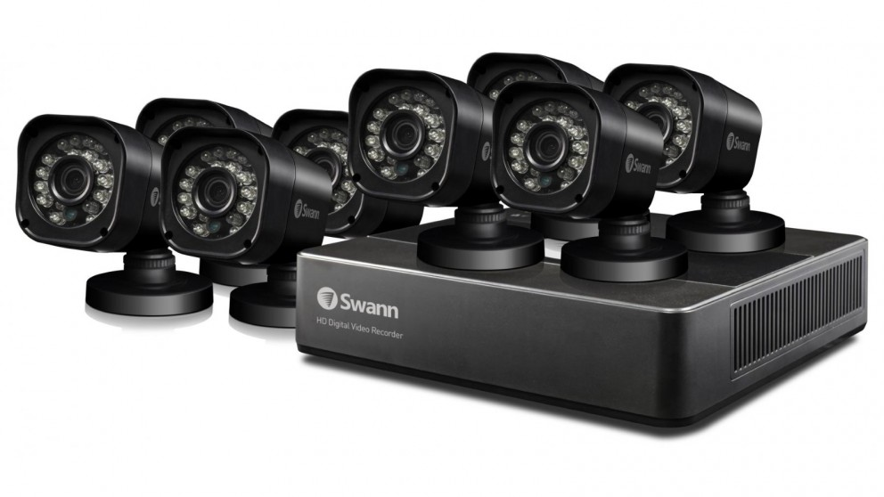 Swann dvr8 159 8 channel home security system with 8 cameras swann dvr8 159 8 channel home security system with 8 cameras solutioingenieria Choice Image