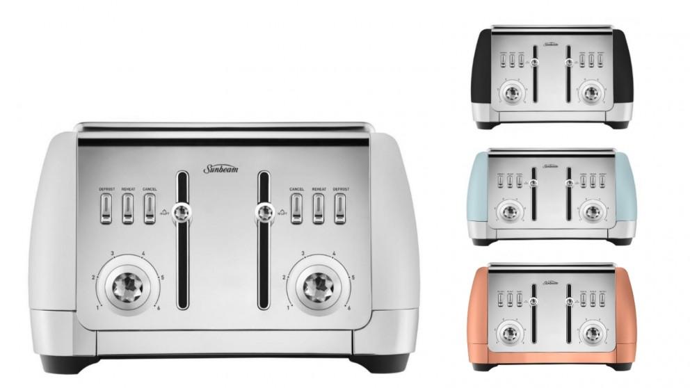 Sunbeam London Collection 4 Slice Toaster