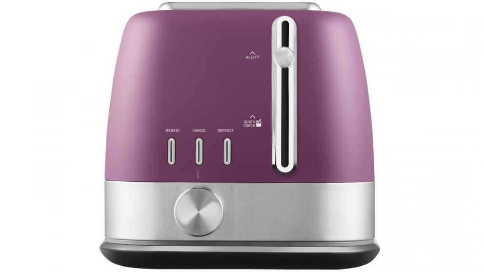 Sunbeam Tribeca 2 Slice Toaster - Delight Purple