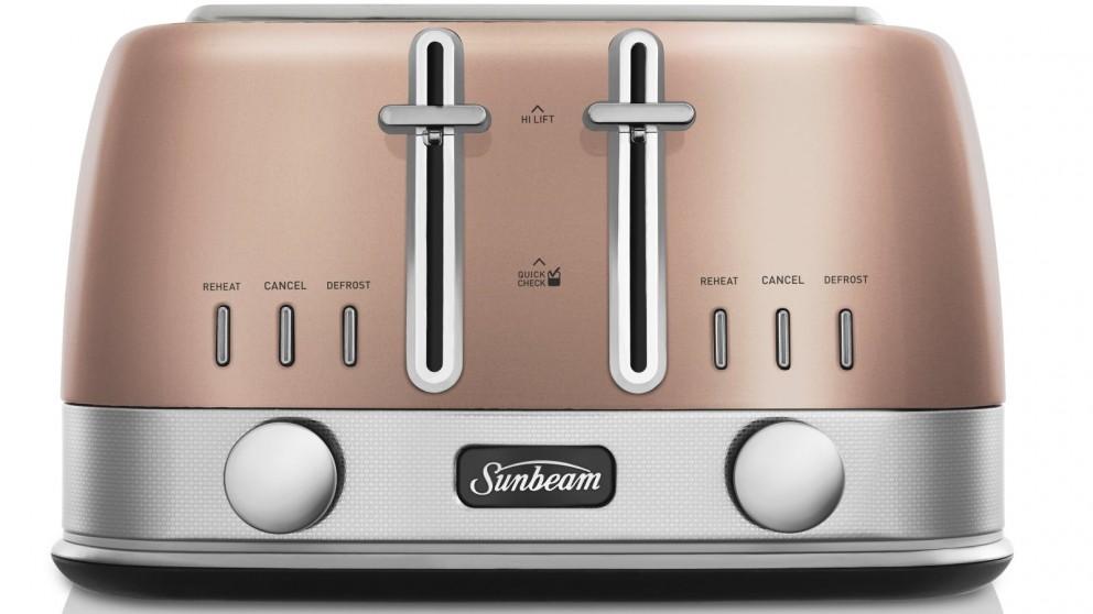 Sunbeam New York 4 Slice Toaster - Copper Penny