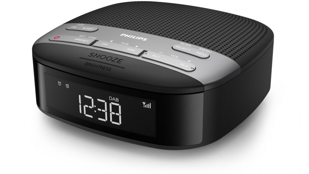 Philips DAB Dual Alarm Clock Radio