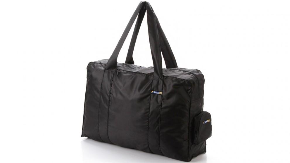 Travel Blue Folding Duffle Bag - Black