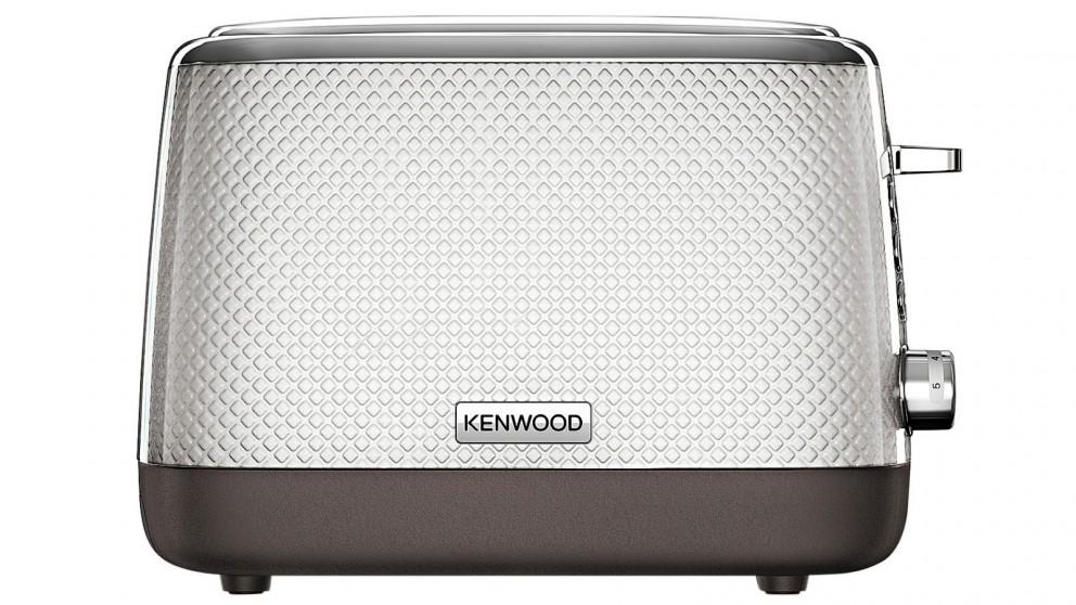 Kenwood 2 Slice Mesmerine Toaster - White