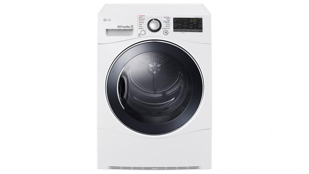 LG 8kg Condenser Dryer with Heat Pump