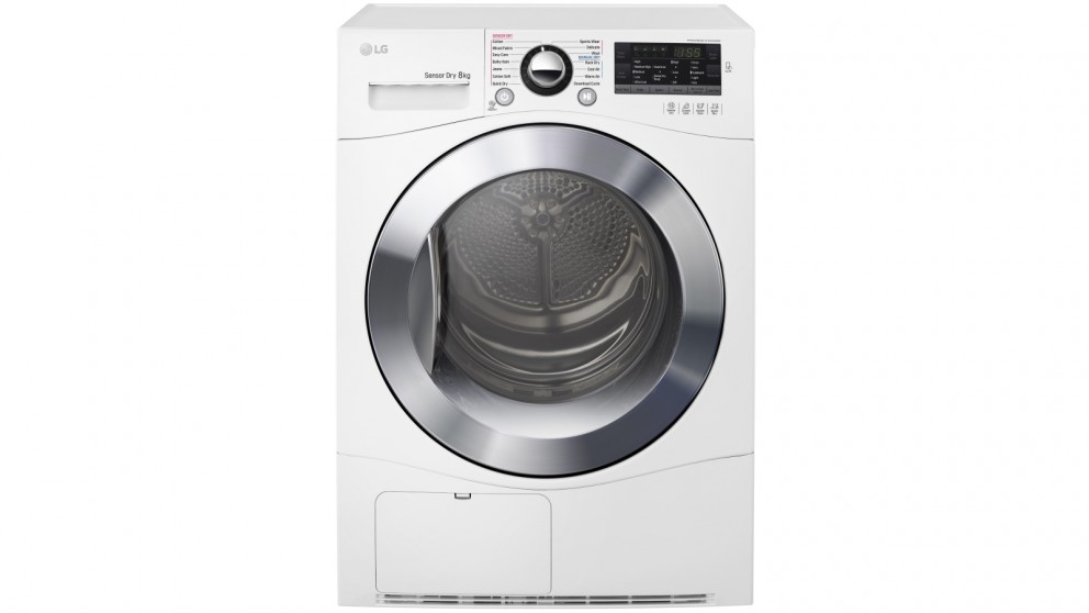 LG 8kg Condensing Dryer with Tag On Function