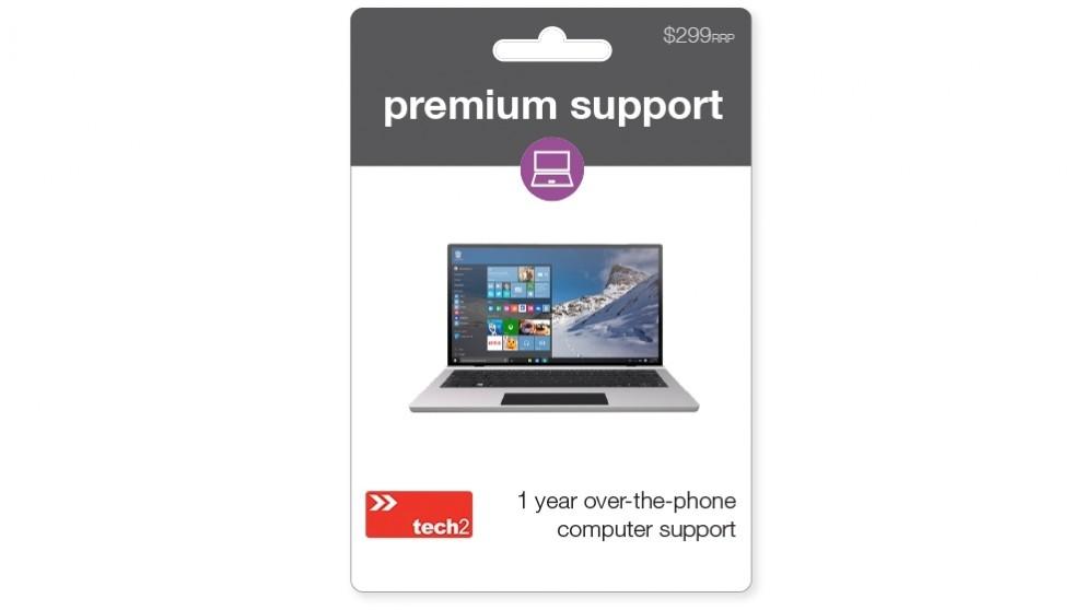 tech2 Premium Computer Support - 12 Months