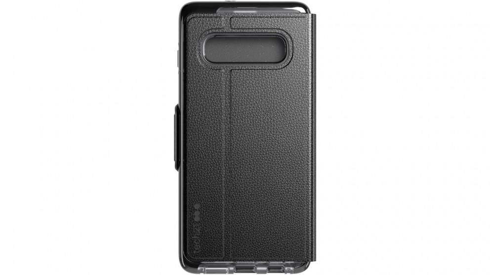 Tech21 Evo Wallet Case for Samsung Galaxy S10+ - Smokey Black
