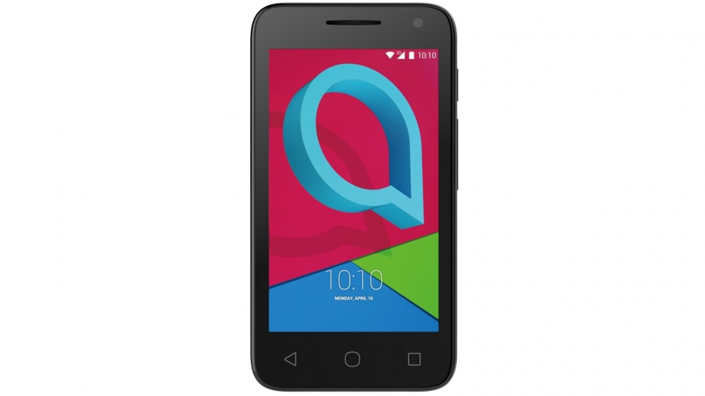 sale retailer d87df dd5fe Telstra Alcatel U3 3G Pre-Paid Smartphone - Black