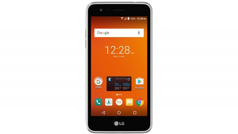 Telstra LG K4 Pre-Paid Smartphone - Silver
