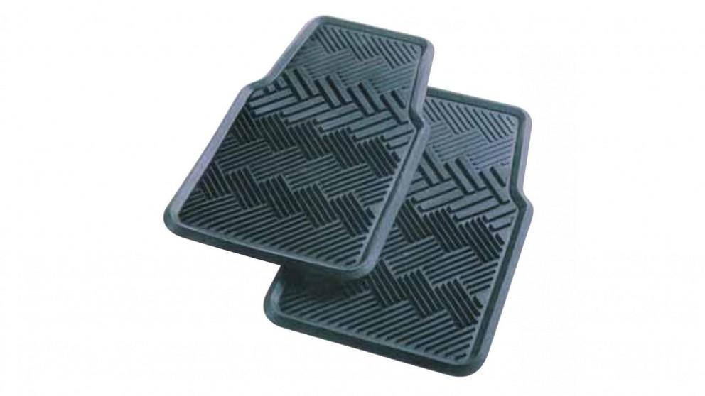 Carfit Terrain Rubber Front Car Floor Mat 2 Piece Set