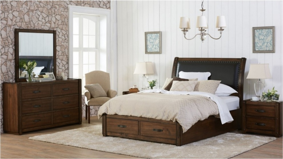 Texas 4 piece bedroom suite beds suites bedroom for Bedroom suites with mattress