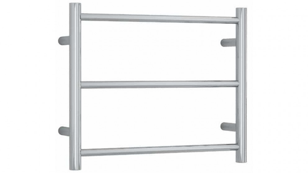 Thermogroup Thermorail 3 Bar Straight Round Heated Towel Rail