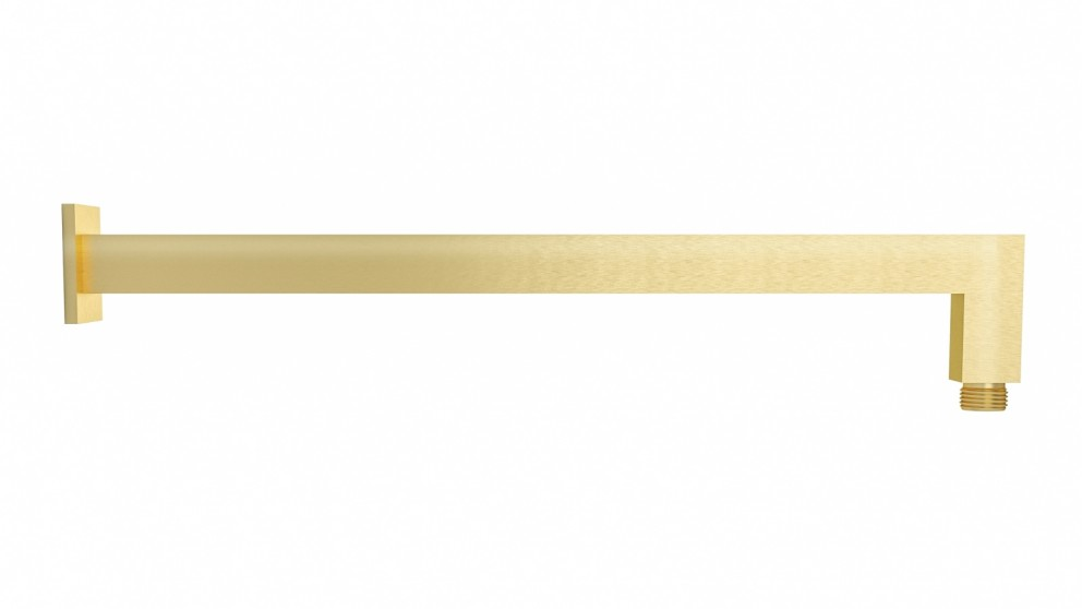 Linsol Tiana 400mm Wall Arm - Brushed Brass