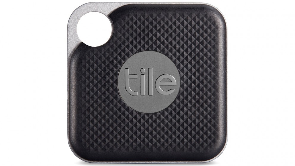 Tile Pro Single Pack Bluetooth Tracker with User Replaceable Battery - Black
