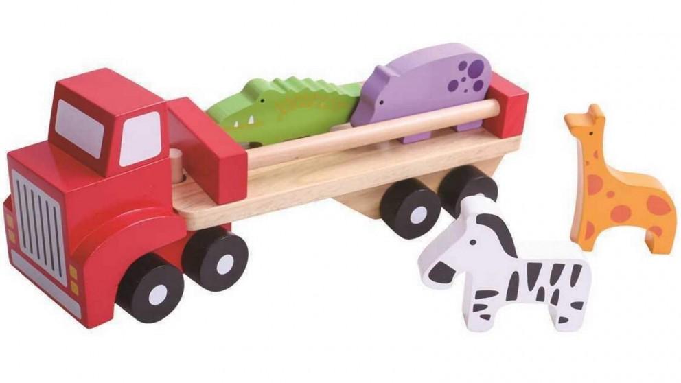 Tooky Toy Animal Truck