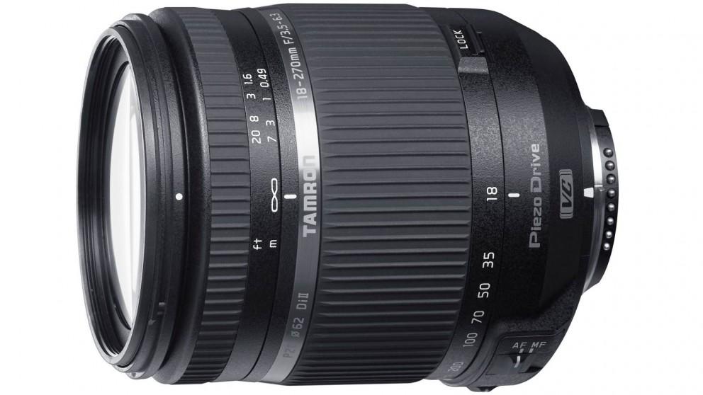 Tamron 18-270mm F3.5-6.3 Di II VC PZD Lens for Nikon