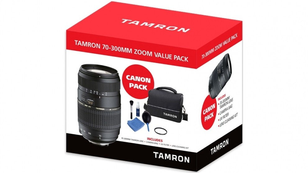 Tamron 70-300mm Zoom Value Pack for Canon EF