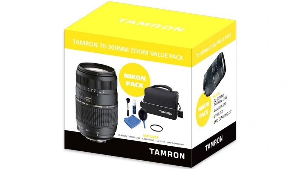 Tamron 70-300mm Zoom Value Pack for Nikon AF-S
