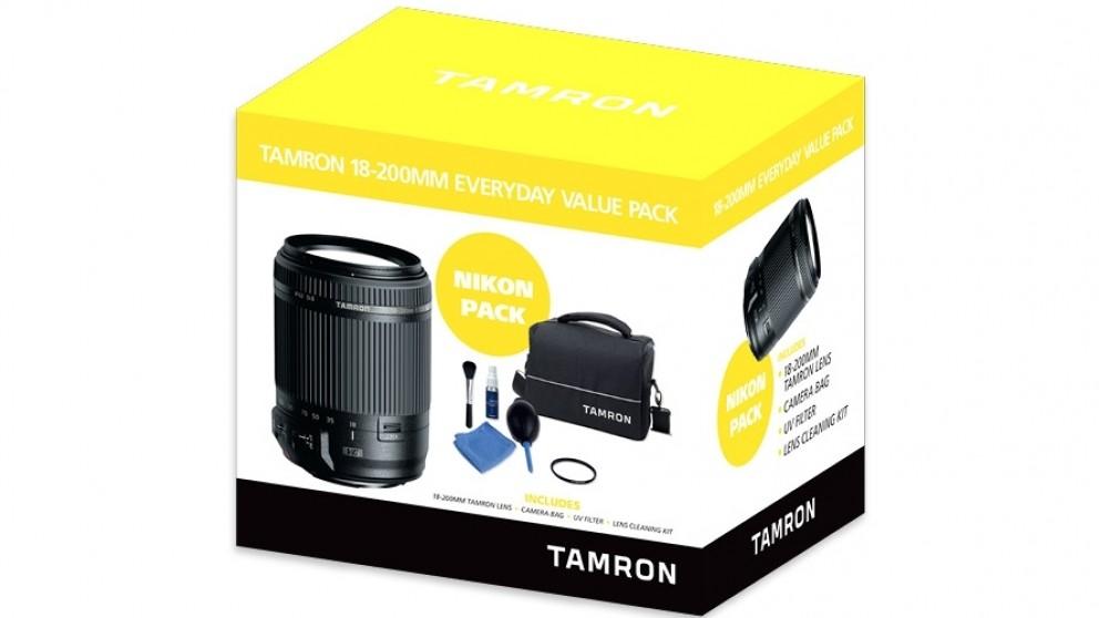 Tamron 18-200mm Everyday Value Pack for Nikon AF-S