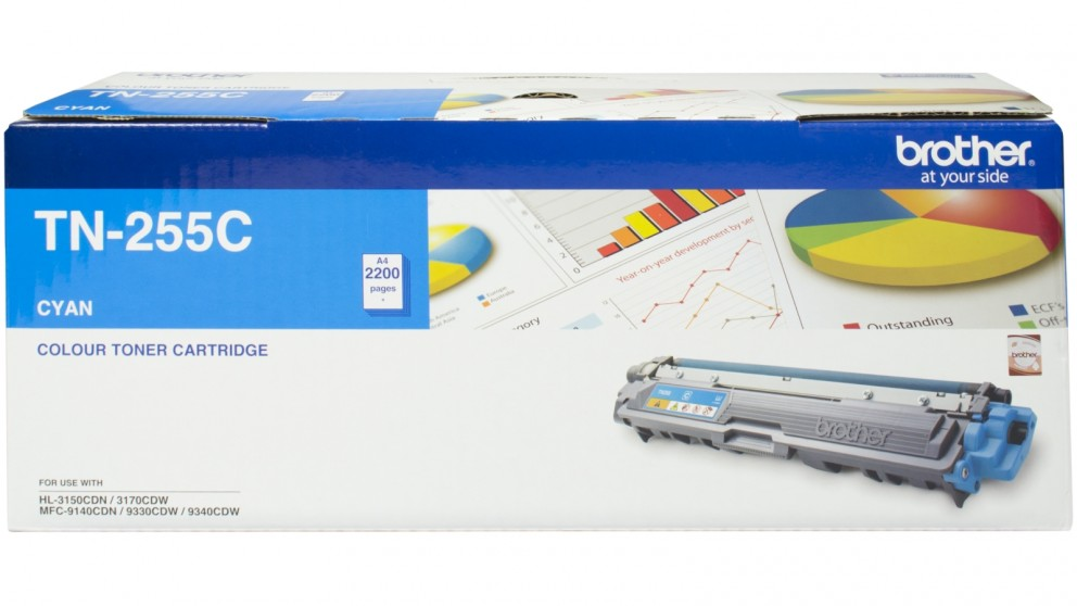 Brother TN-255 Toner - Cyan