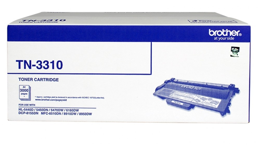 Brother TN-3310 Toner Cartridge - Black