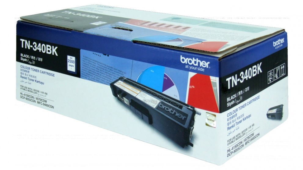 Brother TN-340 Toner Cartridge - Black