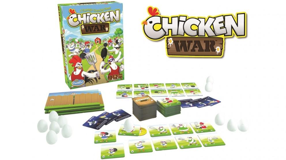ThinkFun Chicken War Game