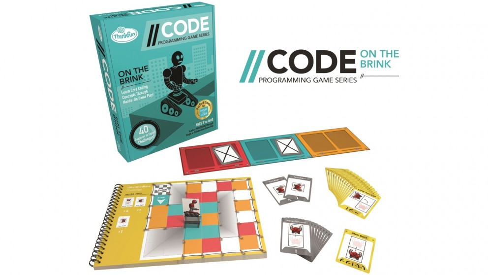 ThinkFun Code On The Brink Game