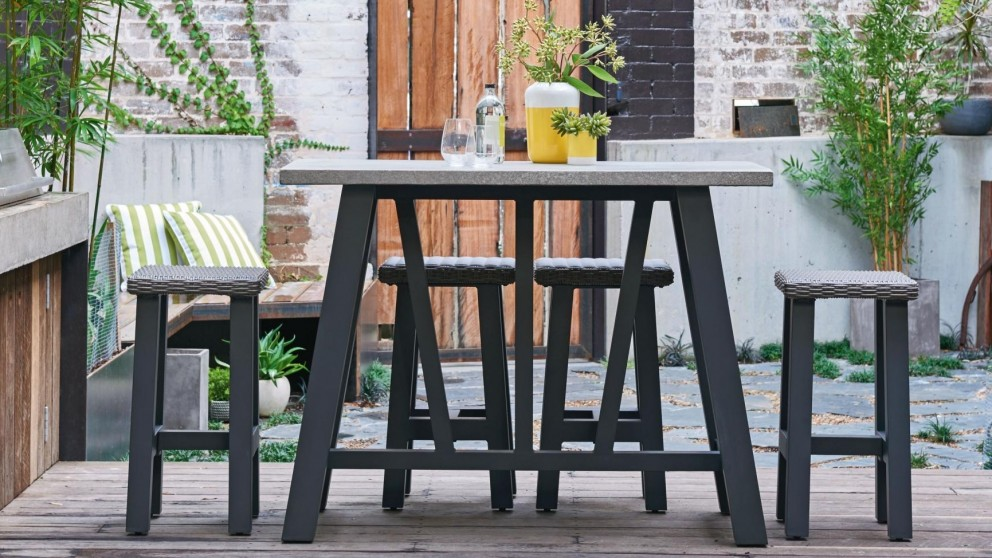 Awesome Tonic 5 Piece Outdoor Rectangular Bar Setting   Outdoor Dining   Outdoor  Living   Furniture, Outdoor U0026 BBQs | Harvey Norman Australia Part 17