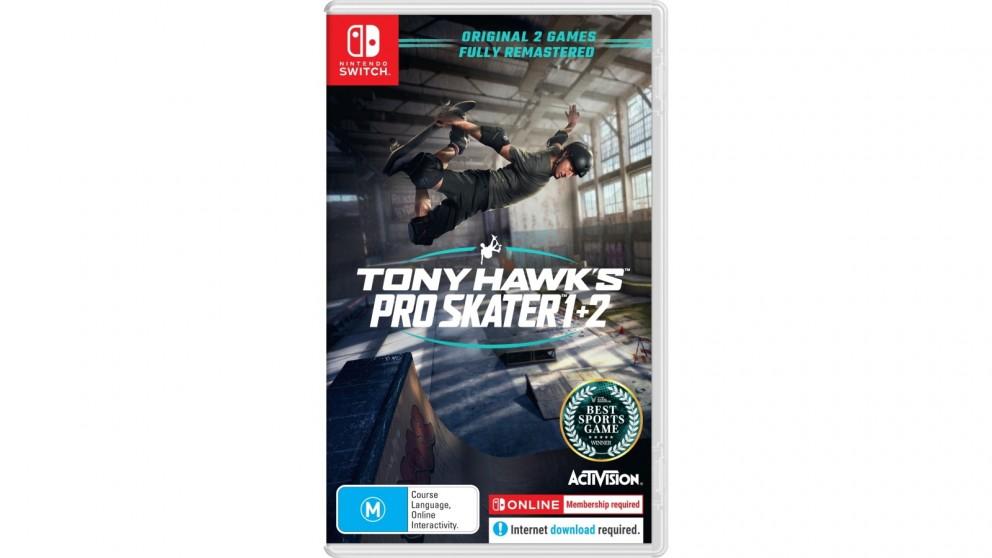Tony Hawk's Pro Skater 1 + 2 - Nintendo Switch