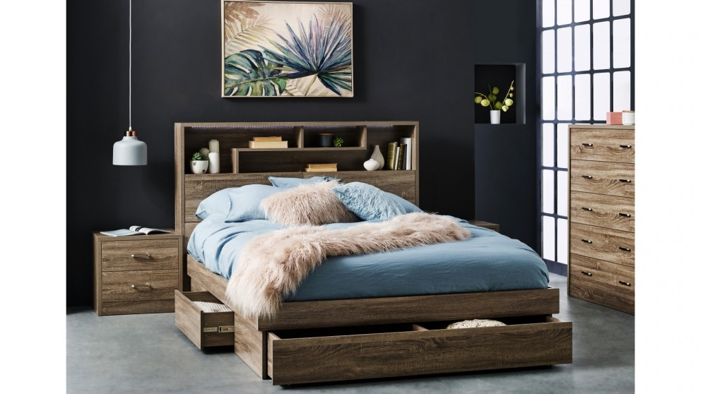 buy edge queen bed harvey norman au. Black Bedroom Furniture Sets. Home Design Ideas