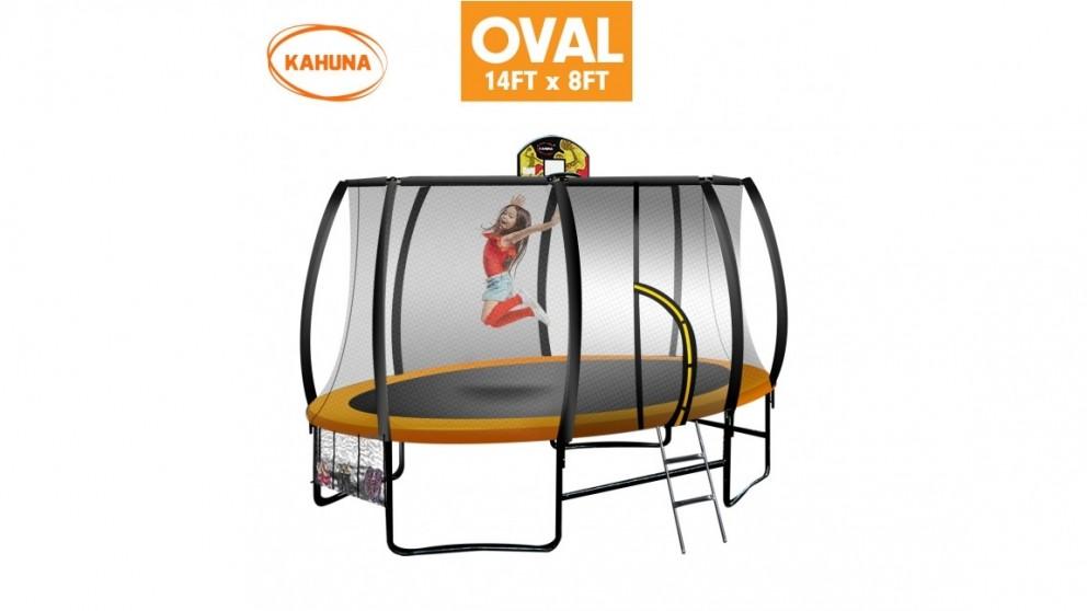 Kahuna 8x14ft Oval Trampoline