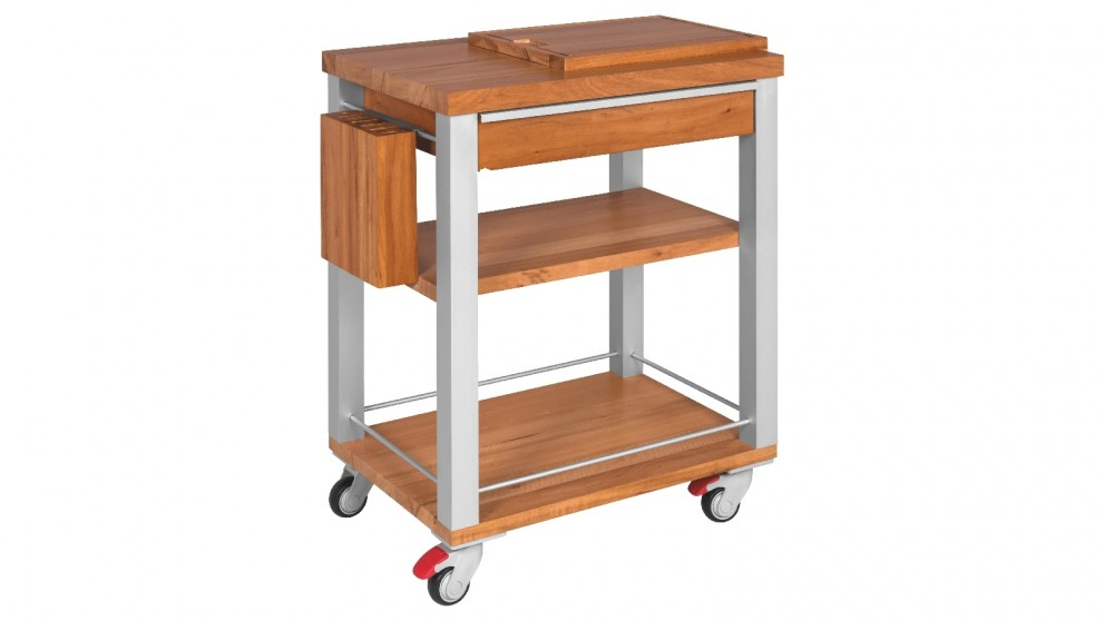 Tramontina Premium Barbecue Trolley With Knife Block